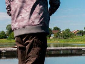 Soft shell jakke til fiskeri