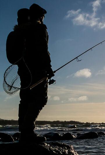 Vadejakke til kystfiskeri